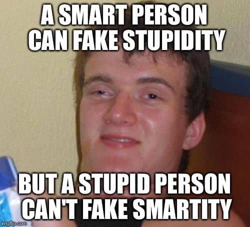 stupid smart memes