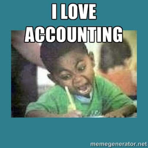 accounting i love memes