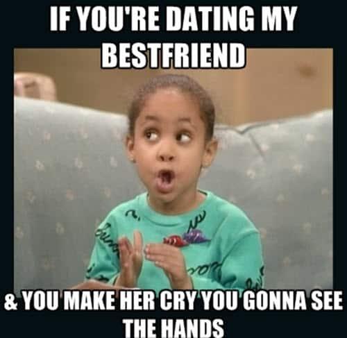 best friend dating memes