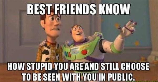 best friend know memes