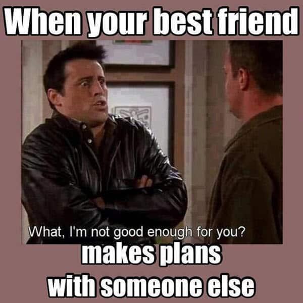best friend plans memes