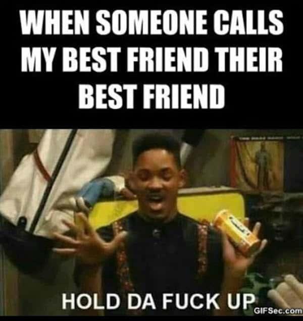 best friend someone calls memes
