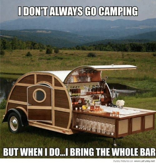camping whole bar memes