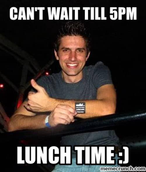 can t wait til 5 pm meme