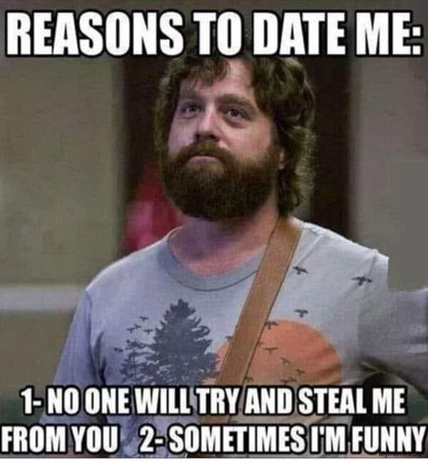dating reasons memes