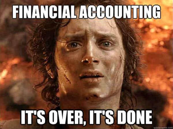 financial accounting memes