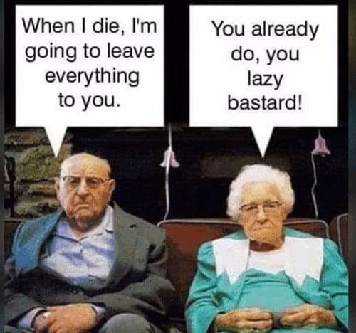 old people lazy memes