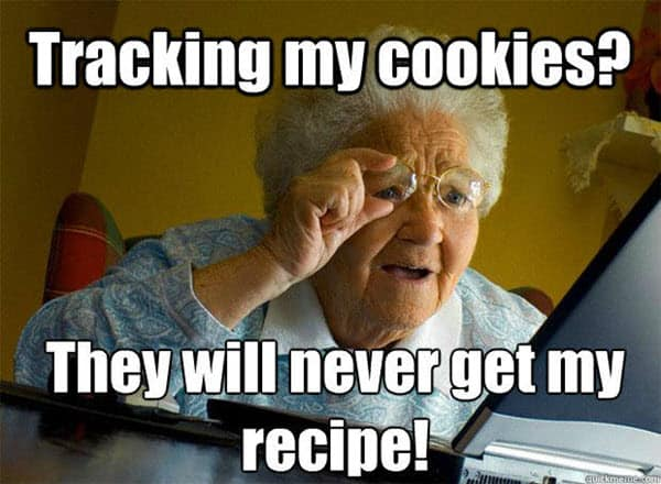 old people tracking my cookies memes
