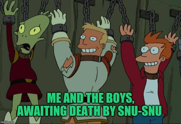 death by snu snu meme awaiting death by snu snu
