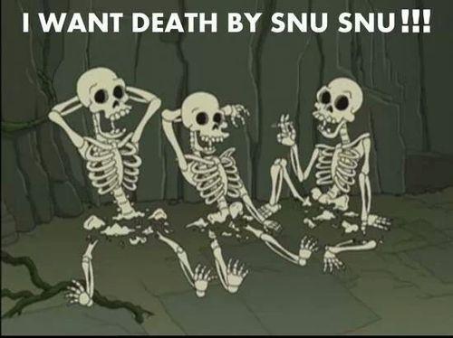 death by snu snu meme i want death by snu snu