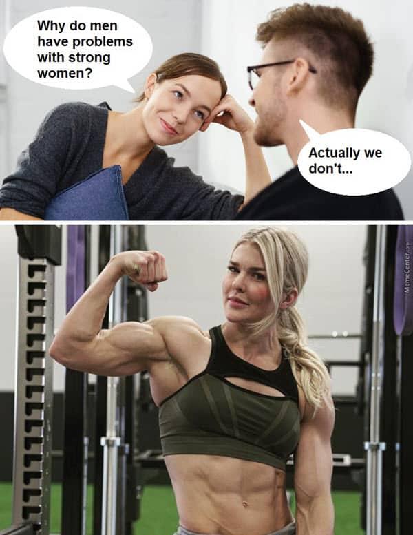 death by snu snu meme strong women