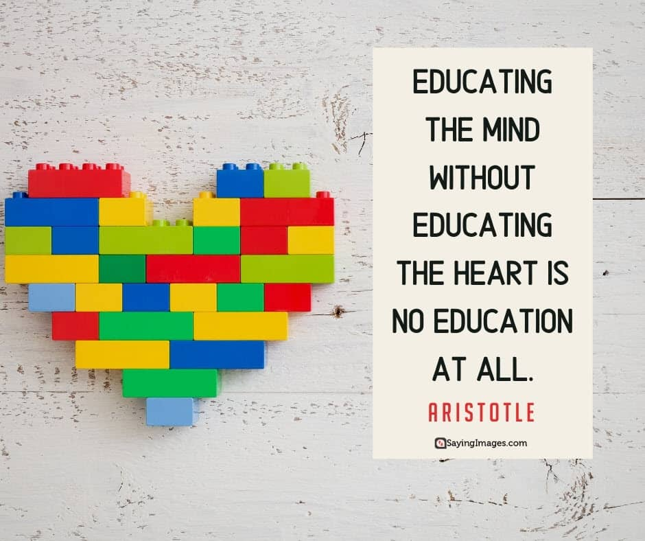 education heart quotes