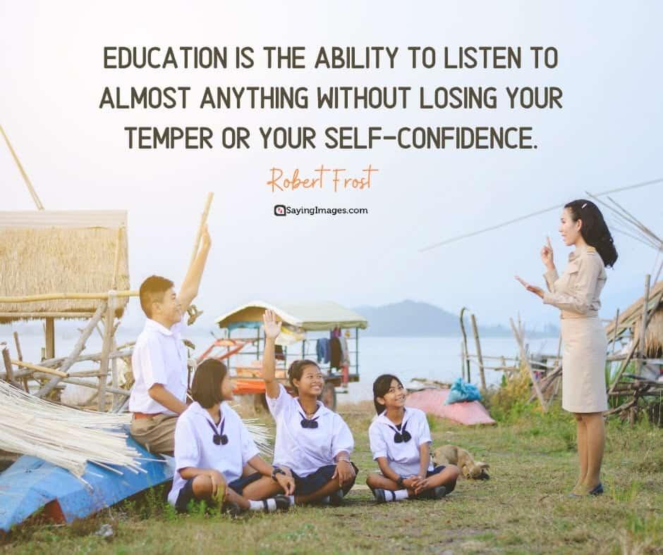 education listen quotes