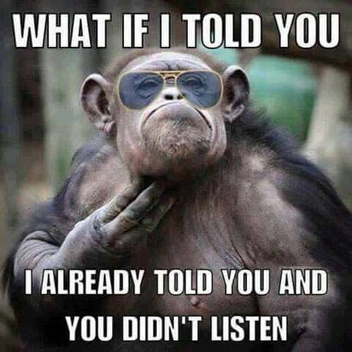 funny monkey what if i told you memes