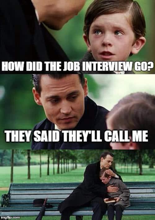 job interview how meme