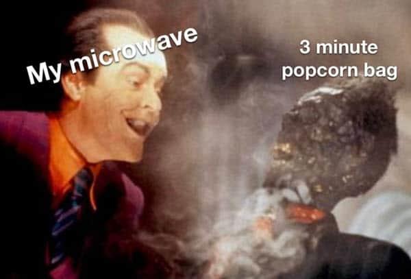 popcorn microwave meme