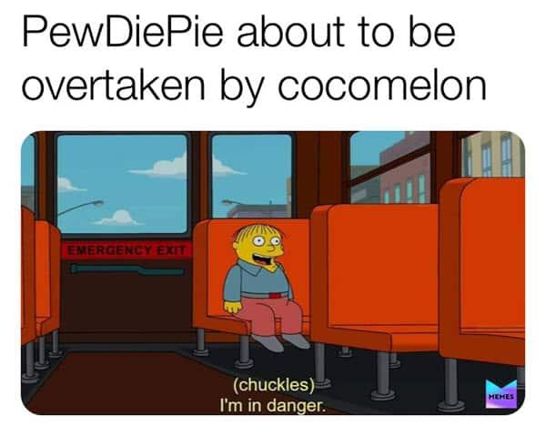 cocomelon im in danger meme