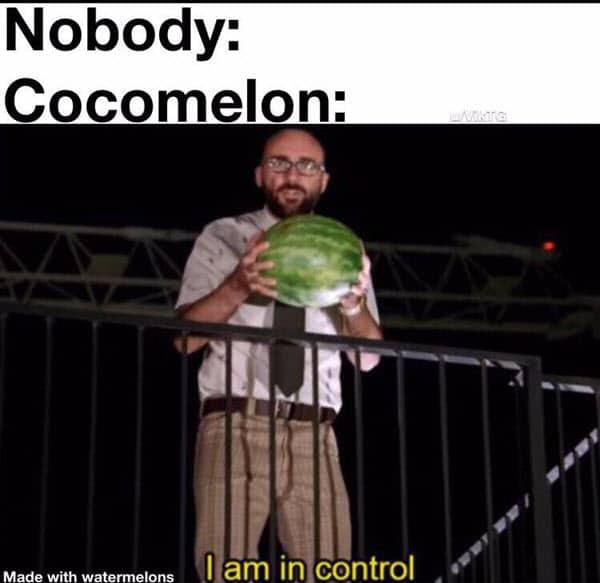 cocomelon in control meme