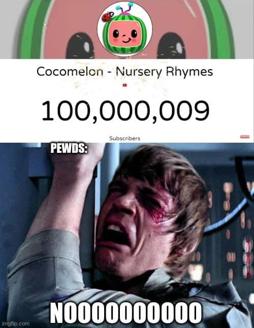 cocomelon pewds meme