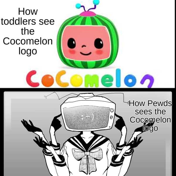 cocomelon toddlers see meme