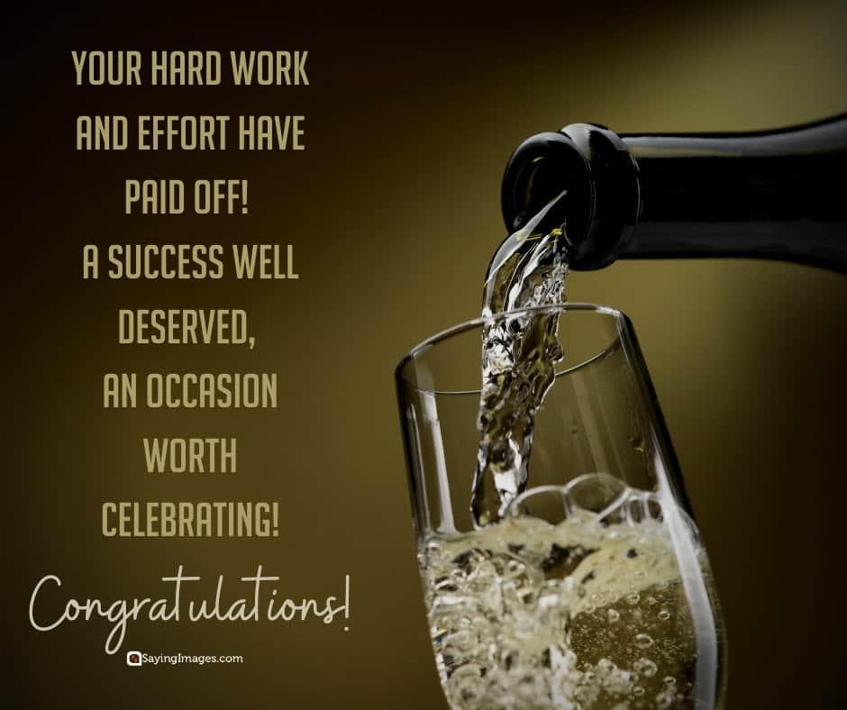 congratulations celebrating quotes