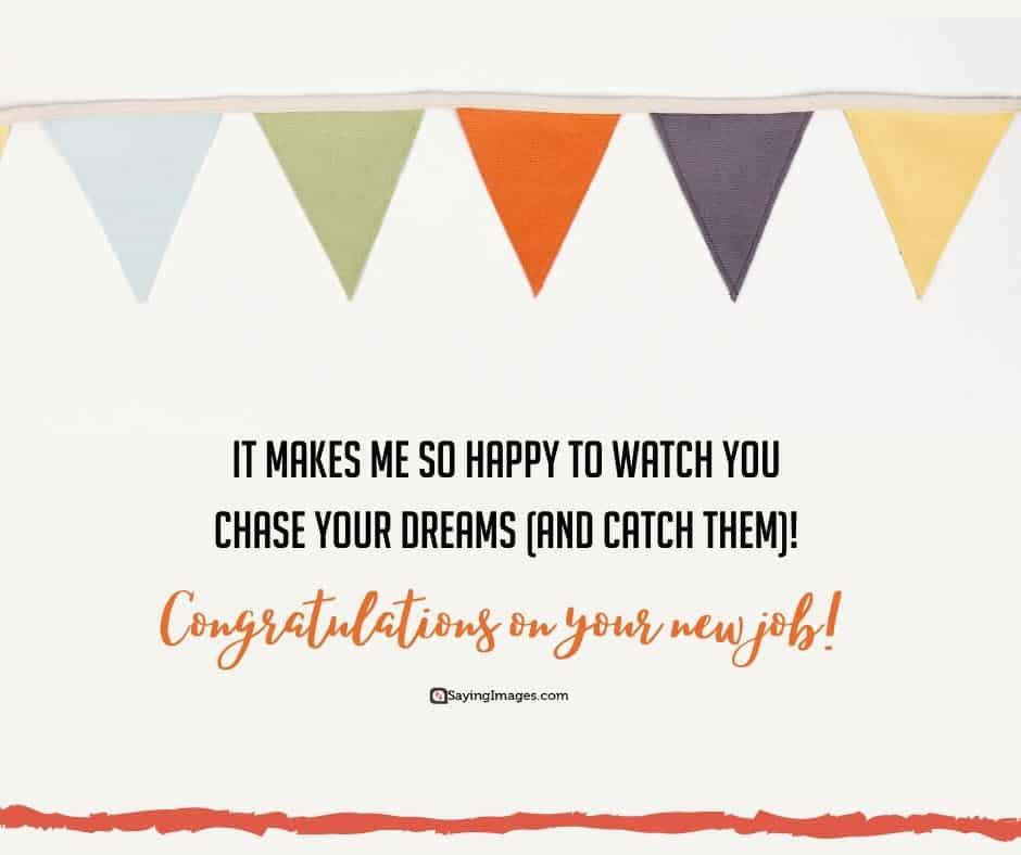 congratulations dreams quotes