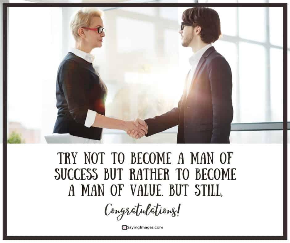 congratulations success quotes