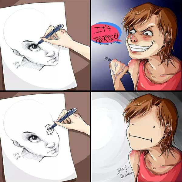 drawing its perfect meme
