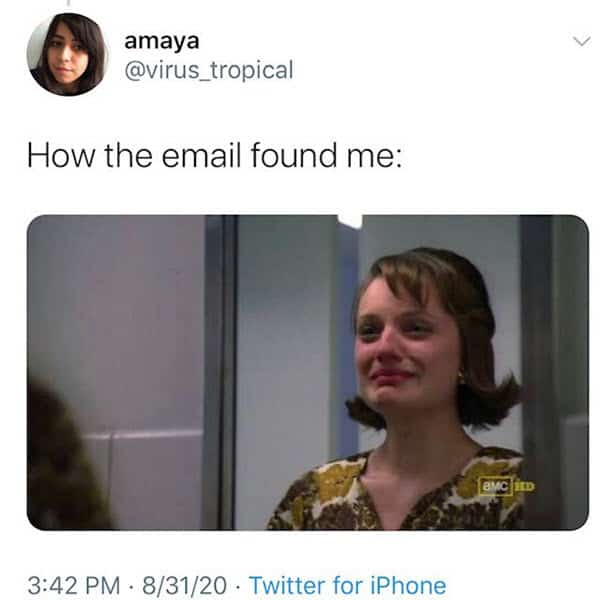 hope this email finds you well ready to cry memes