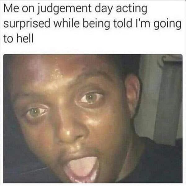 surprised face judgement day meme