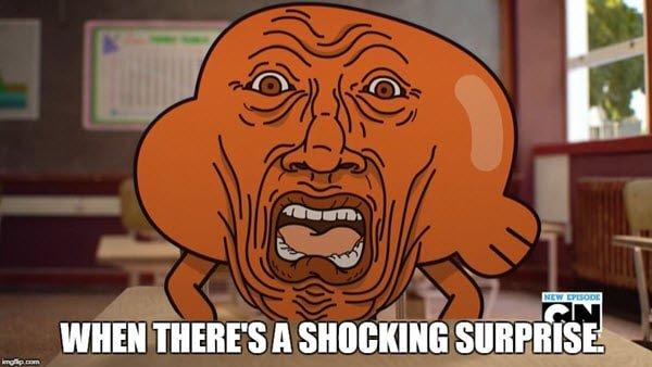 surprised face shocking meme