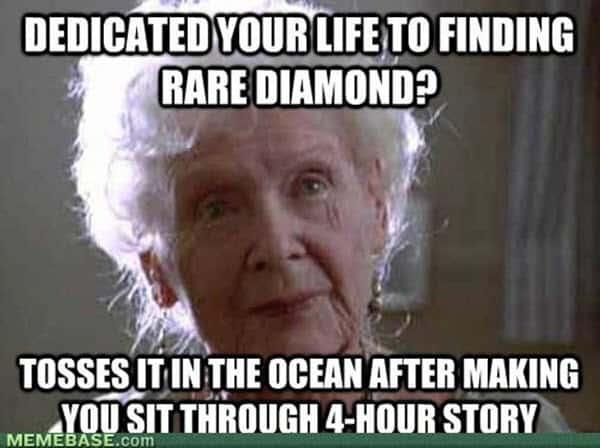 titanic dedicate your life meme
