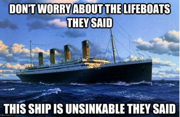 titanic dont worry meme