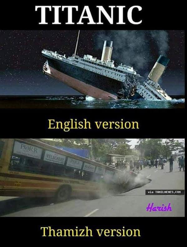titanic english version meme