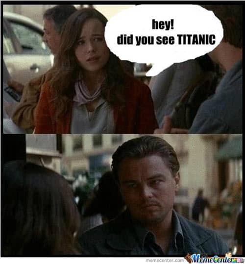 titanic hey did you see meme