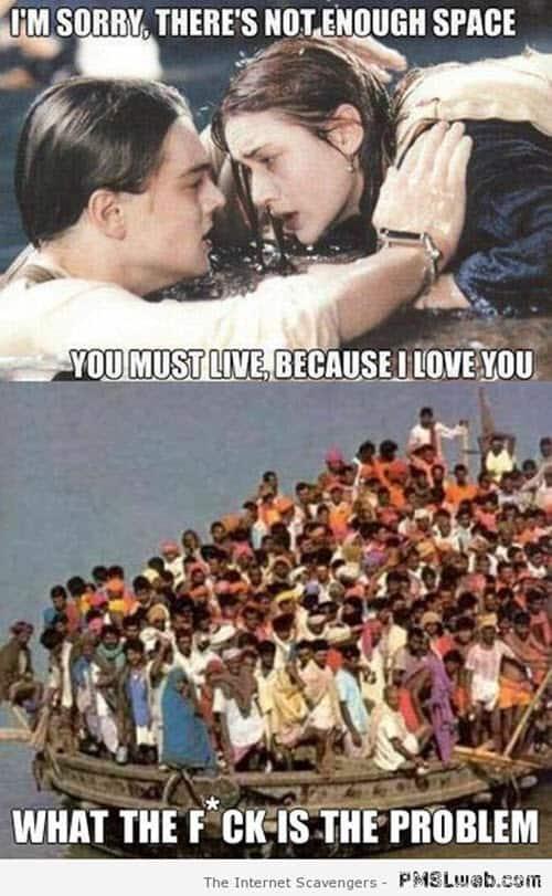 titanic im sorry meme