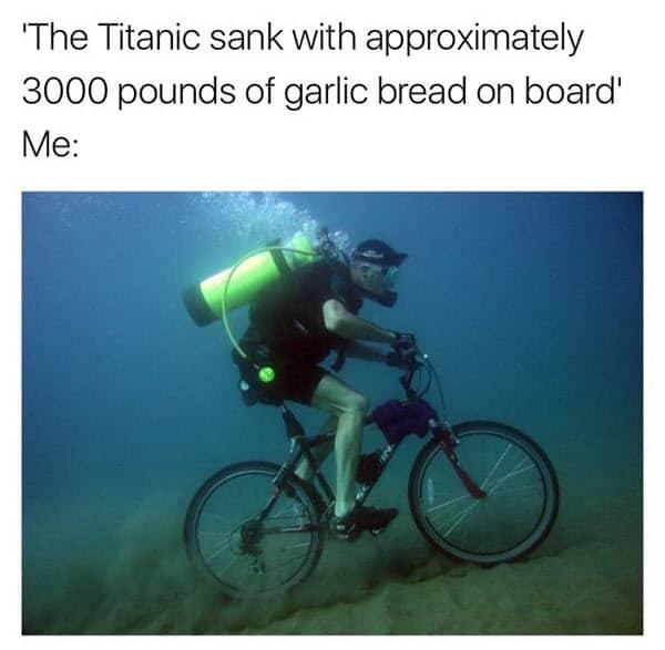 titanic sank meme
