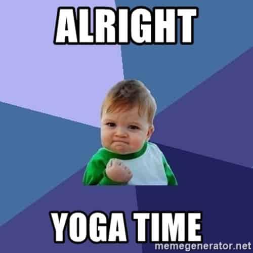 yoga alright memes