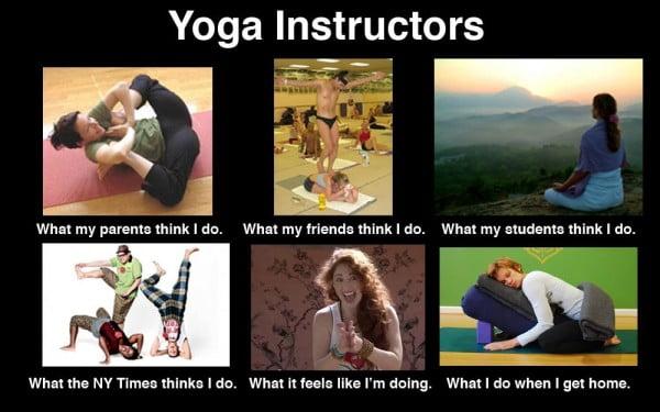 yoga instructors memes