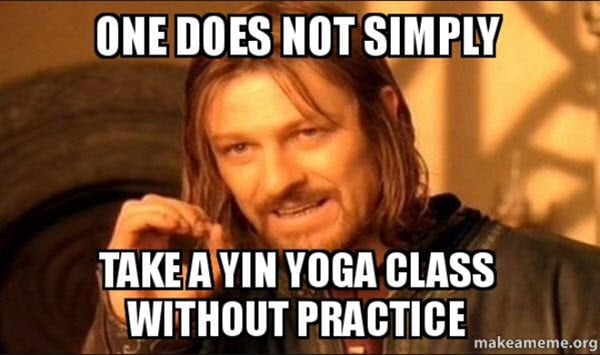 yoga one does not simply memes