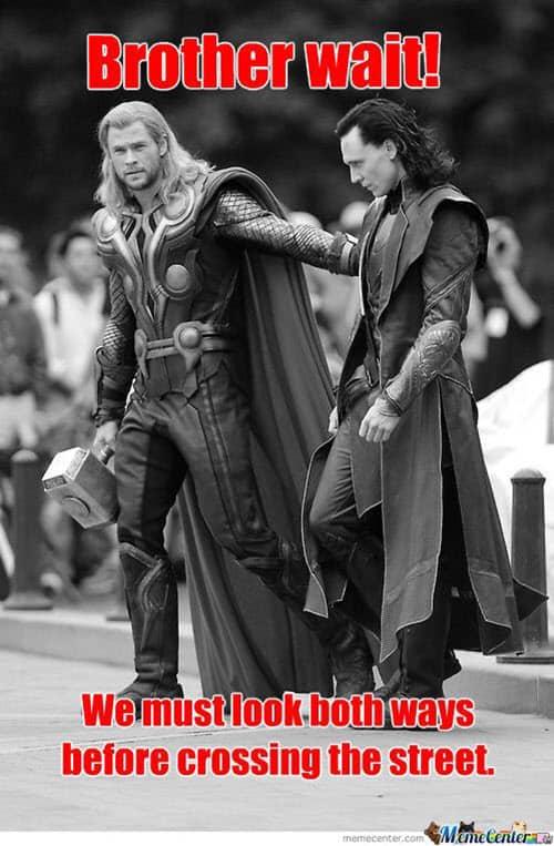 avengers brother wait meme