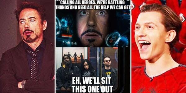 avengers calling all heroes meme