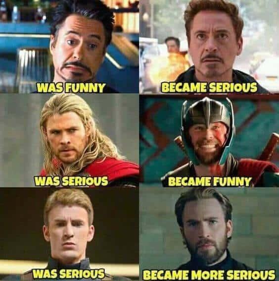 avengers funny meme