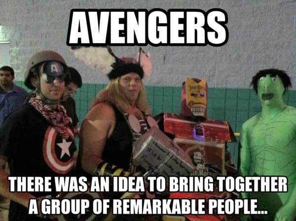 avengers idea meme