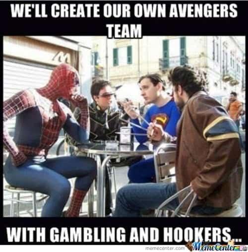avengers justice league meme