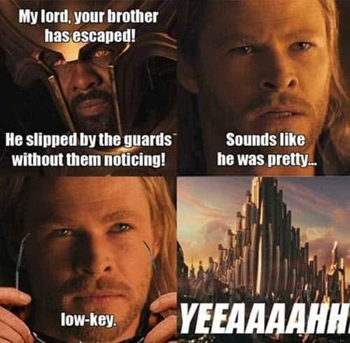 avengers my lord meme