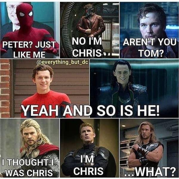 avengers peter meme