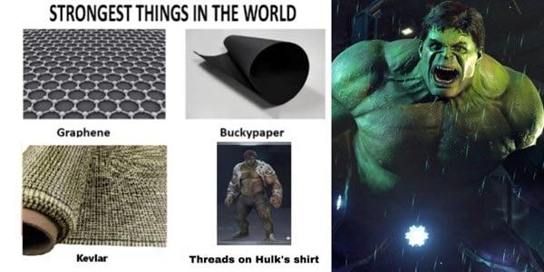 avengers strongest thing meme