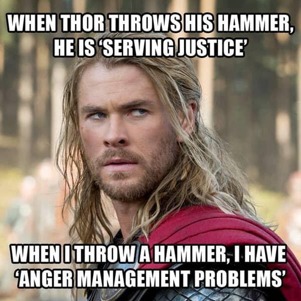 avengers thor meme