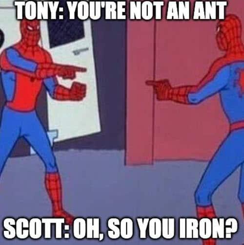 avengers tony and scott meme